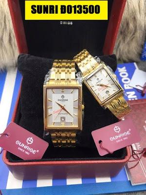 Đồng hồ đeo tay SUNRISE Đ013500 quà tặng sinh nhật người yêu ý nghĩa