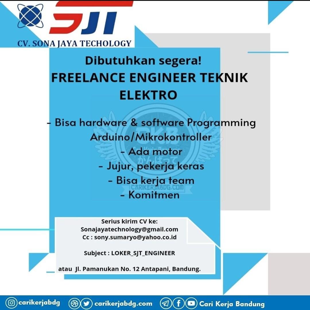 Lowongan Kerja Freelance Engineer Teknik Elektro Antapani Bandung Lokersukabumiid