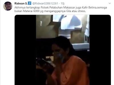Wanita Ngamuk dan Melempar Alqur'an di Makassar