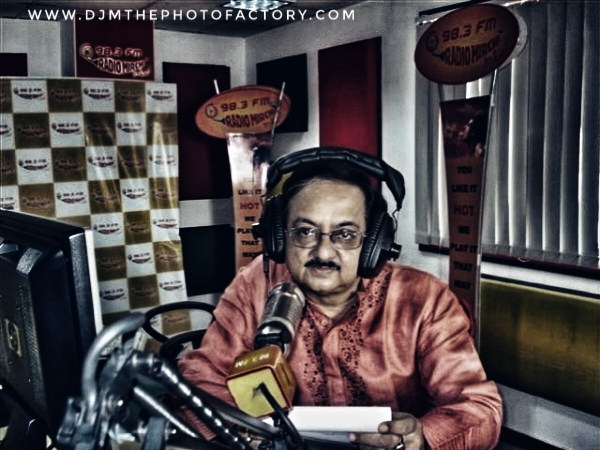 famous Bengali Radio FM radio jockey on National Radio day August 20