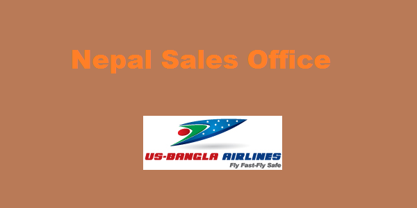 US Bangla Airlines Kathmandu Nepal Sales Office