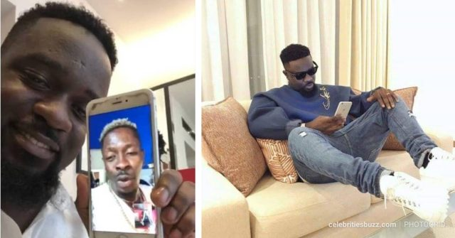 Sarkodie Replies A Fan Who Begged For An Old Phone From Him