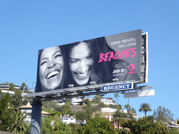 Beaches TV remake billboard