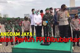 Diancam Pangdam Jaya, FPI Sebut Tak Akan Patuh Pada Kemungkaran