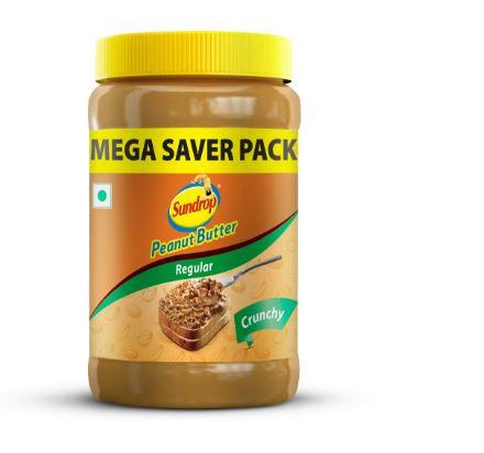 Sundrop Peanut Butter, Crunchy, 924g