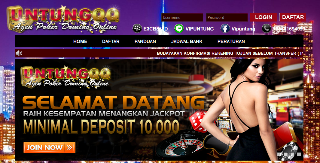 Situs Domino99 Paling Bagus Yang Dimiliki Oleh Bandar Paling Bonafit