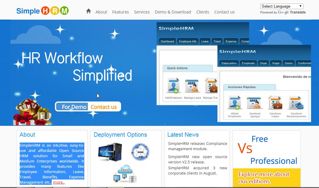 Open Source Human Resource Management Software   TutorialsBag com