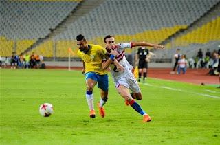 ملخص واهداف مباراة الزمالك والإسماعيلي اليوم الأحد 9-2-2020 في الدوري المصري
