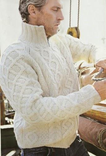 Suéter de Hombre a Dos Agujas o Knitting