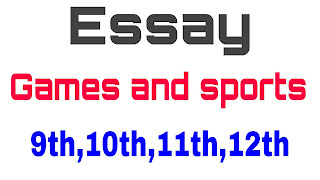 games and sports essay in points,value of games and sports essay 250 words,importance of games and sports essay for 12th class,importance of sports essay,