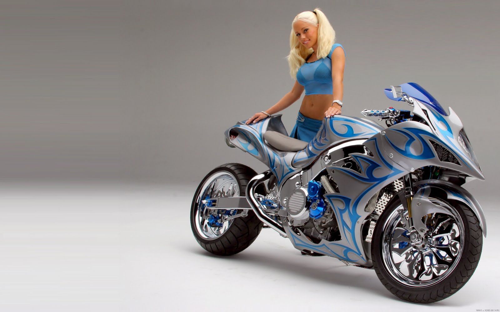 Magec Fatamor Motorcycle Wallpaper Beautiful Girl With