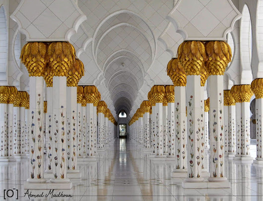 Sheikh Zayed Grand Mosque [amazing Design!]