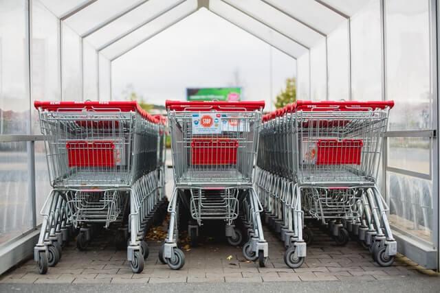 carrinhos de supermercado