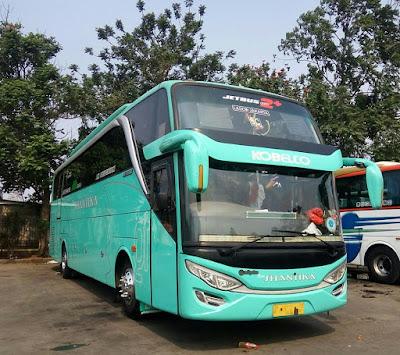 Foto Bus New Shantika 5C Kobelco