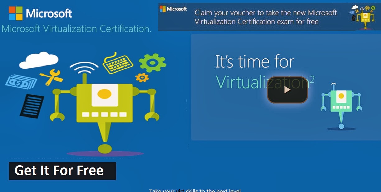 Microsoft Virtualization Certification Image Collections