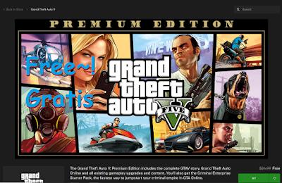 Grand Theft Auto 5 Sekarang Resmi Gratis