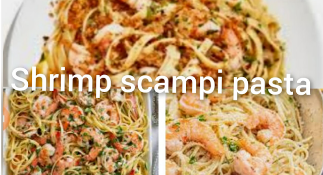 Shrimp scampi pasta - easy recipe, delicious taste, loved by many families