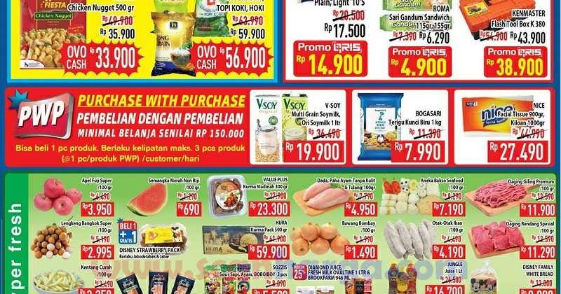 Katalog Promo Hypermart Weekday Terbaru 11 - 13 Agustus