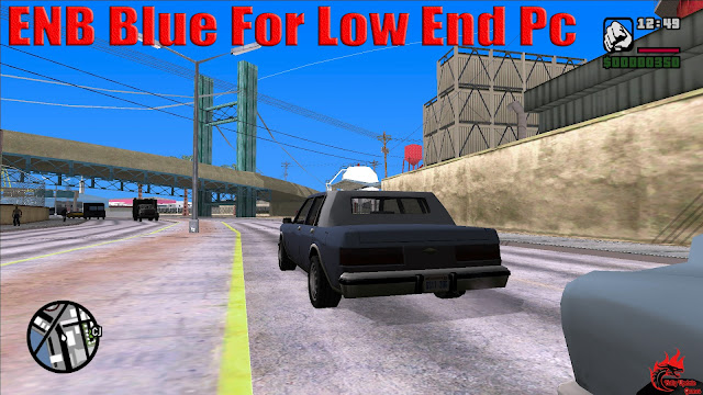 GTA San Andreas ENB Blue For Low End Pc