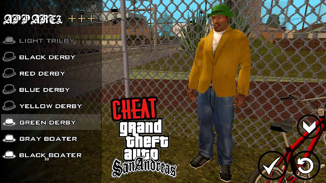 Cheat Gta San Andreas Android Cleo Terlengkap Tanpa Root ( Support Nougat )