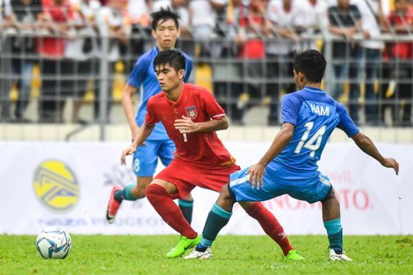 Hàng công thăng hoa, U22 Myanmar đánh bại U22 Lào