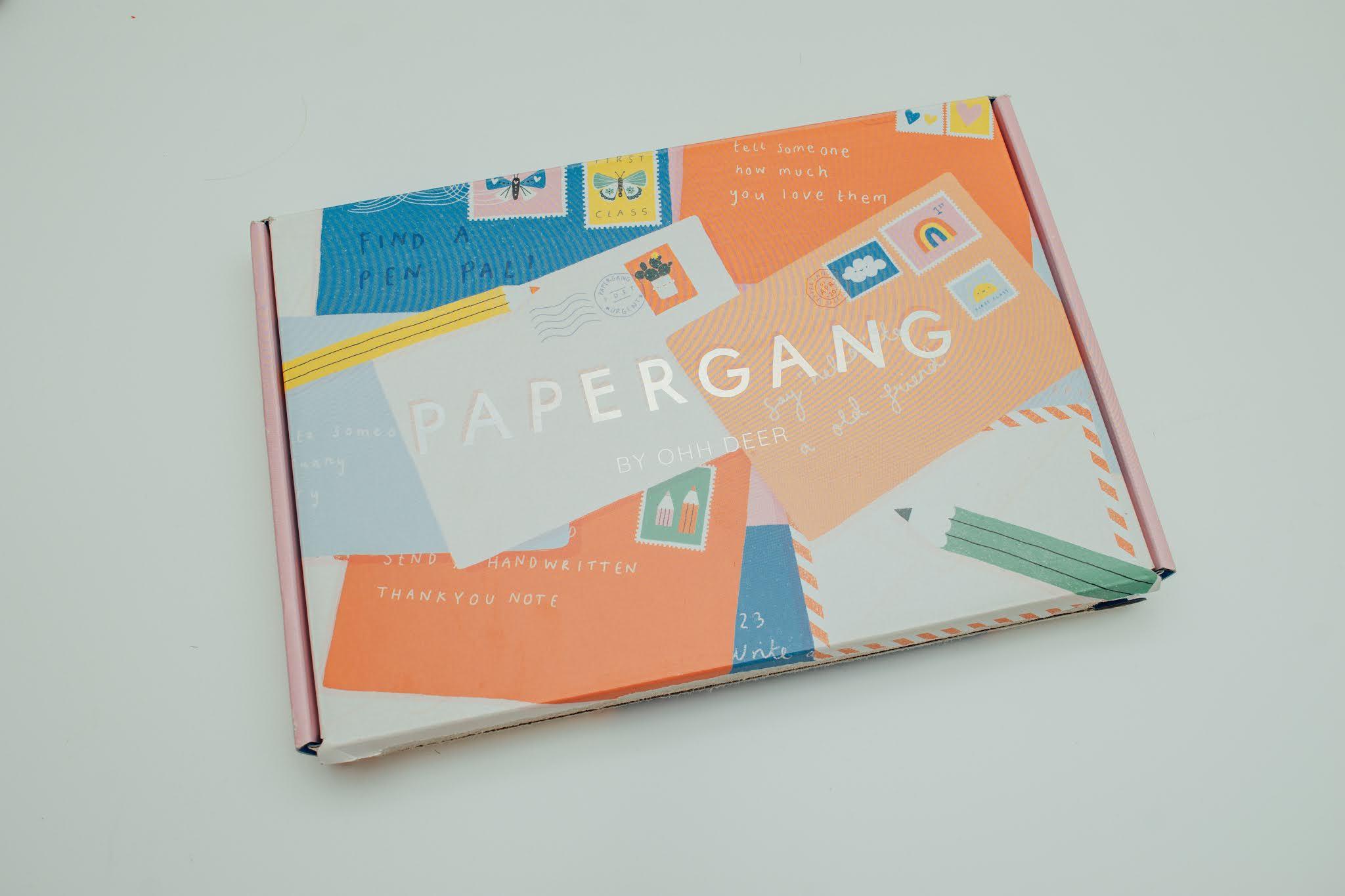 December 2020 Papergang box packaging