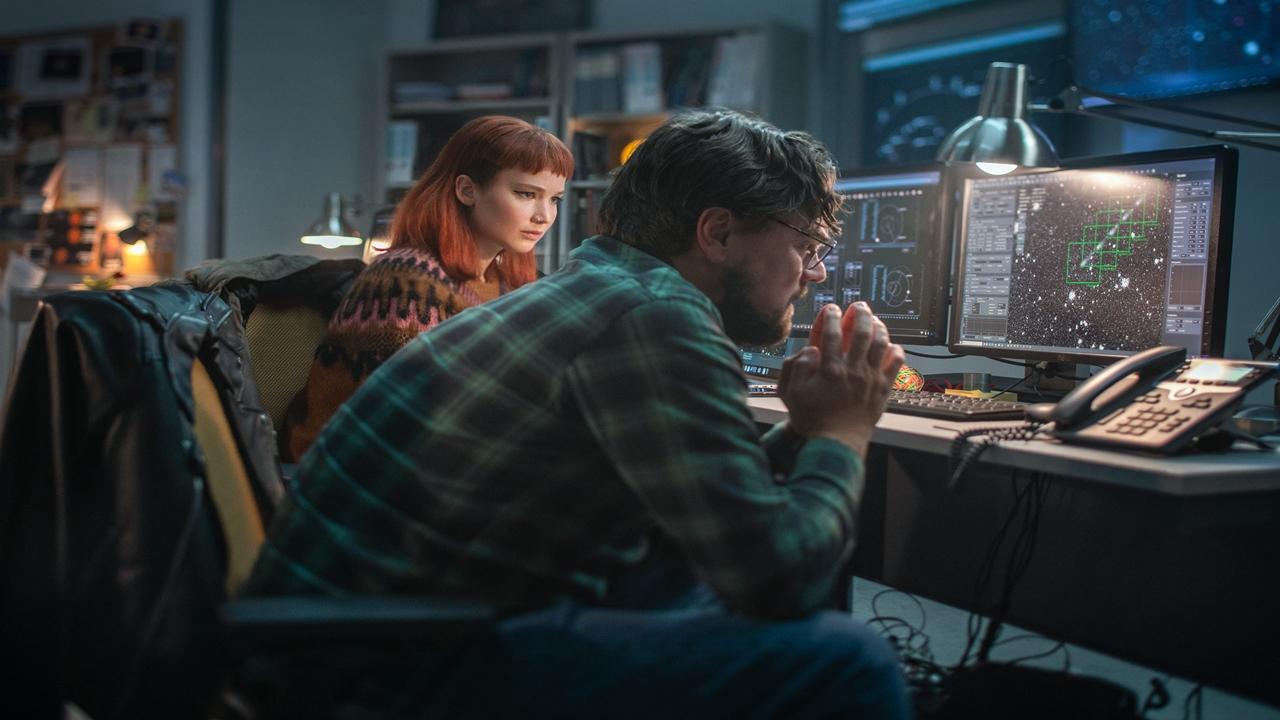 Leonardo DiCaprio e Jennifer Lawrence tentam salvar o mundo no teaser de 'Não Olhe para Cima'