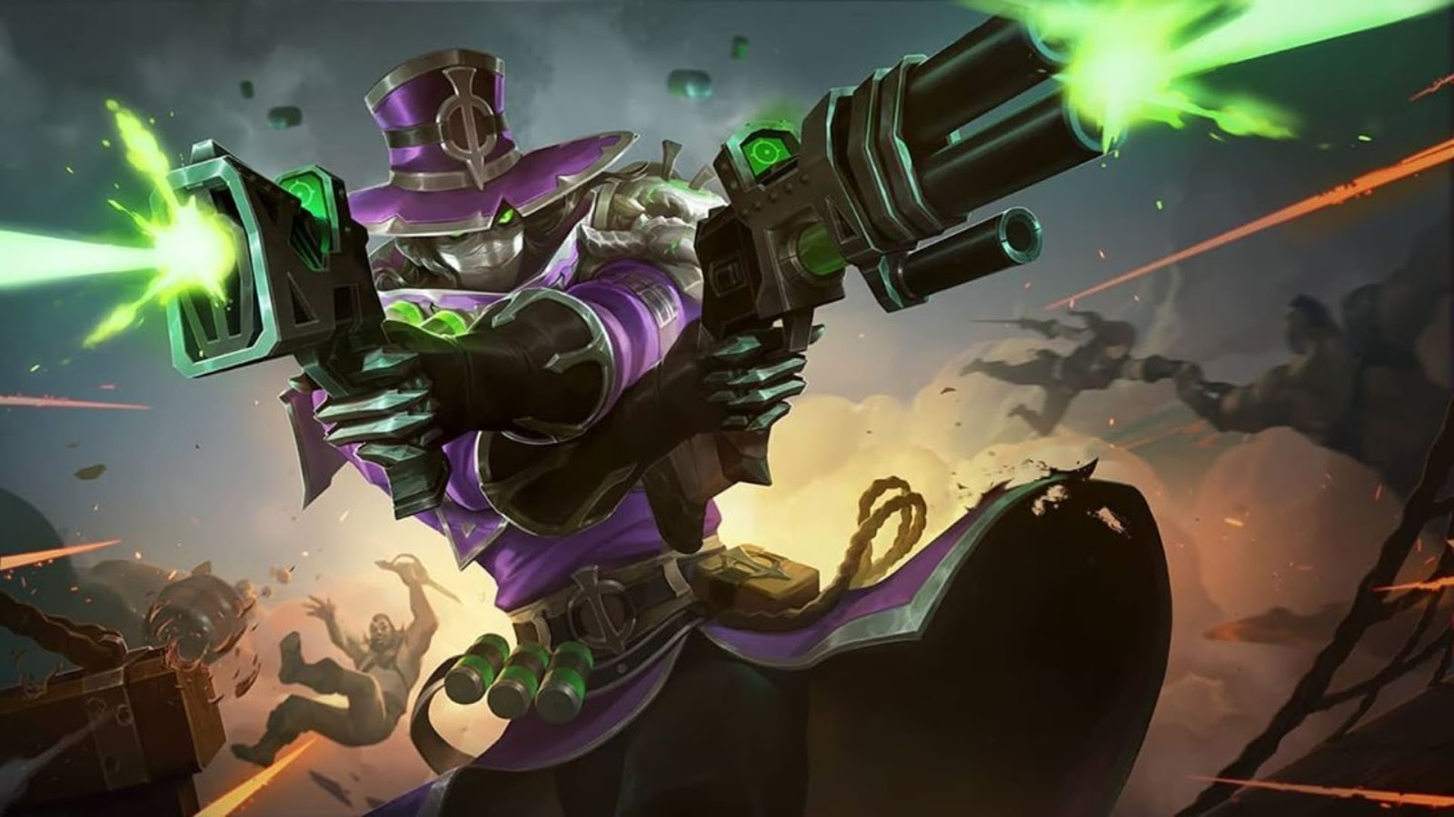 Wallpaper Clint Witch Hunter Skin Mobile Legends HD for PC
