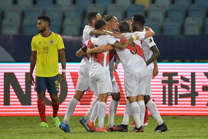 'Mar' de dudas en la Selección Colombia: Perdió ante Perú y deberá asegurar frente a Brasil su clasificación a los cuartos de final de la Copa América