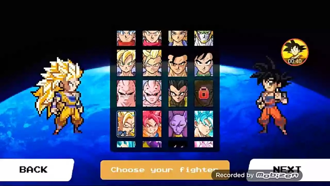 DBZ Mugen for Android apk Download