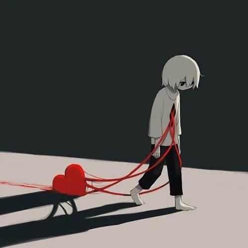 broken heart DP for boys