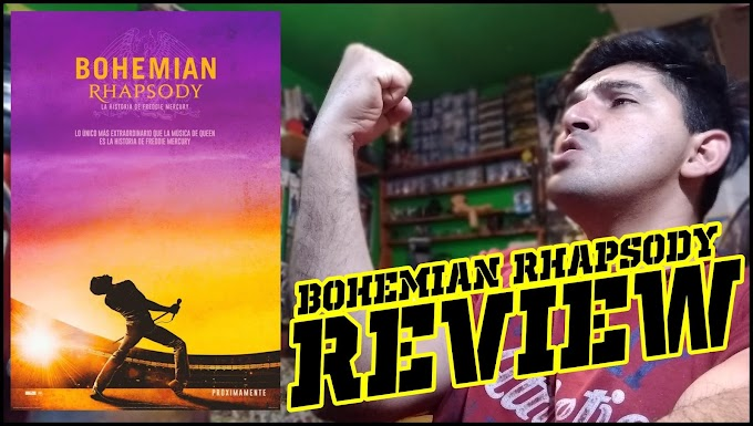 "REVIEW a BOHEMIAN RHAPSODY por ""El Yusty"" (VIDEO)"