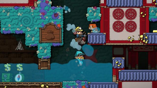 Screenshot Gameplay Spelunky 2 PC