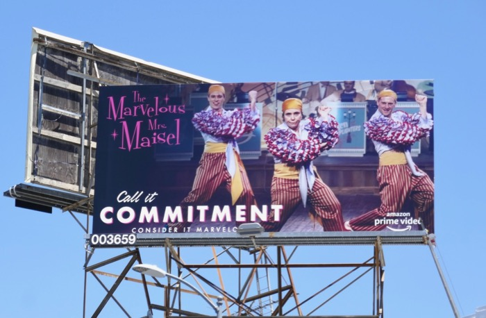 Mrs Maisel season 2 Call it commitment Emmy billboard