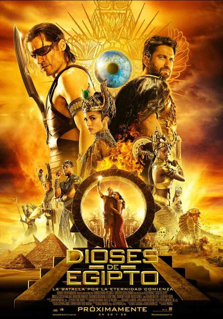 Cartel: Dioses de Egipto