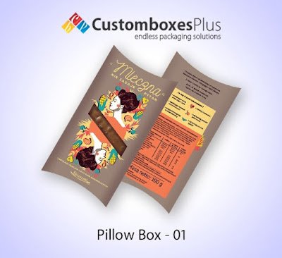 Pillow packaging is can also be customized just like the requirements and choices of the customers. Custom Pillow Boxes are available in every size, shape and theme. You can get your favorite and desired custom box from us by placing your order at our site. Our Pillow Boxes Wholesale is made up of high quality stock material and with latest printing techniques.