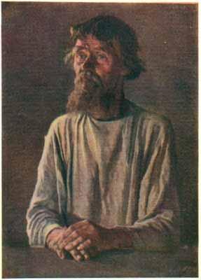 Василий Васильевич Верещагин - Старик-молоканин в светлой рубахе. 1865