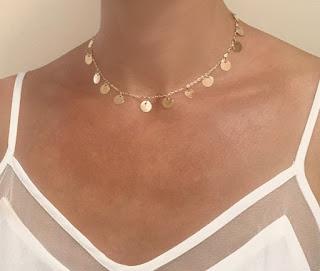 bijoux tendance hiver ras du cou