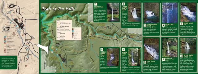 Silver Falls State Park Trail Map