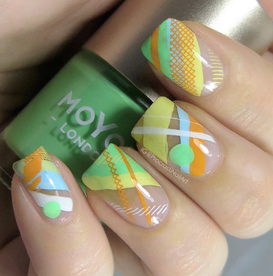 Nail Art // Negative Space Stamping with MoYou London and Mundo de ...