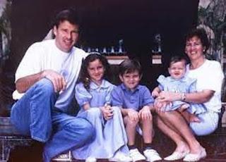 Nick Faldo Ex Wife Gill Bennett And Their Kids