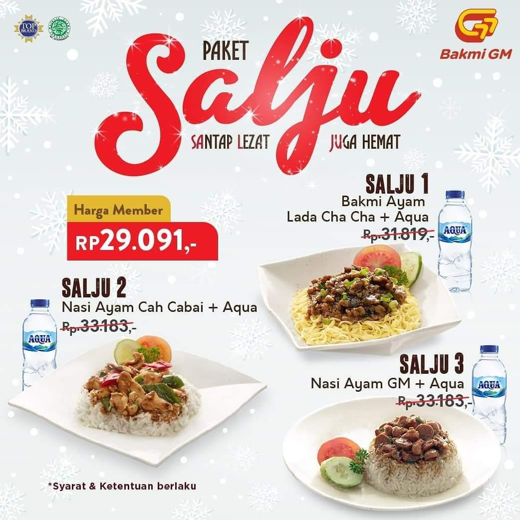 Promo Bakmi Gm Harga Spesial Paket Salju Periode 1 31 Desember 2019 Harga Diskon