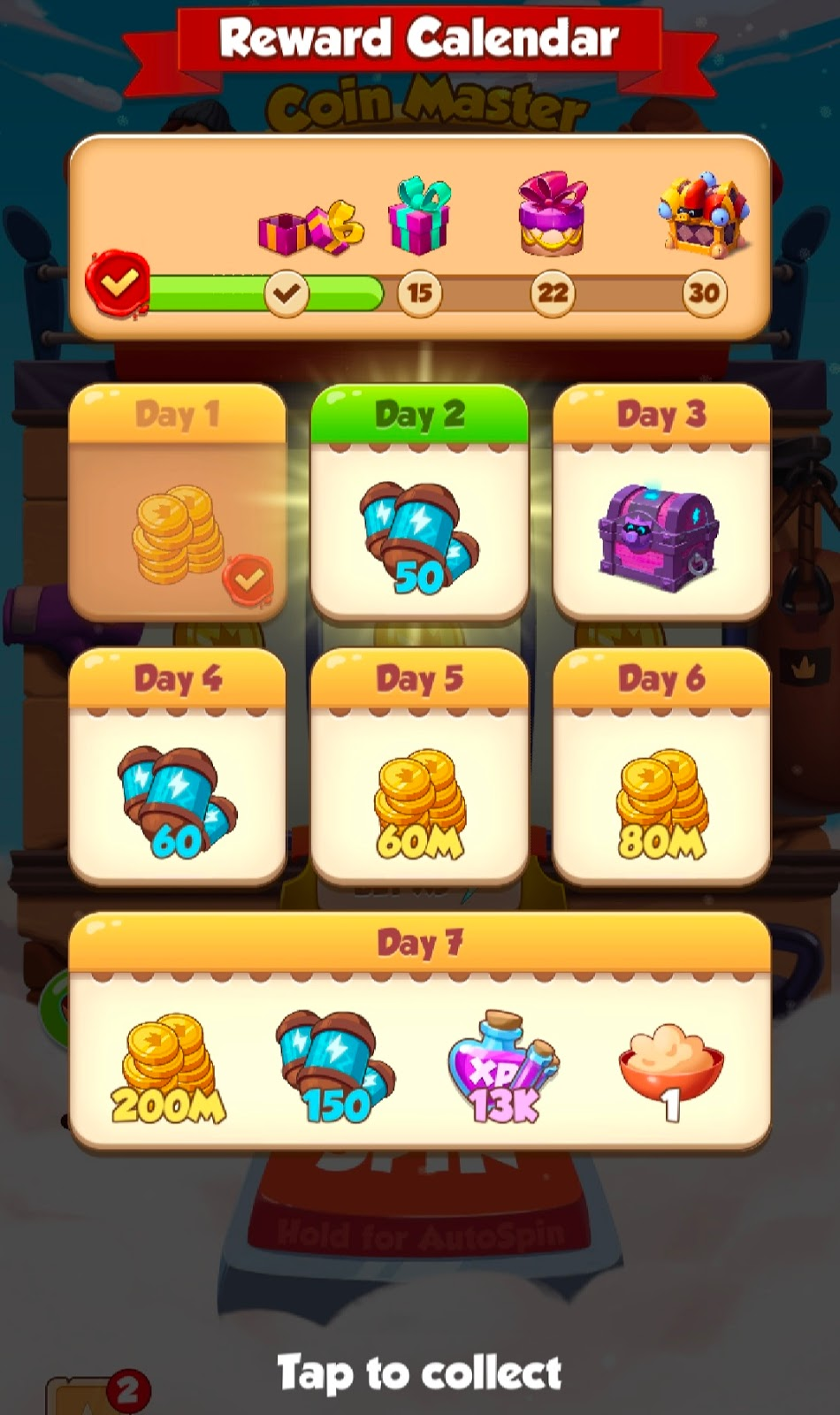 how do you get free pet food in coin master