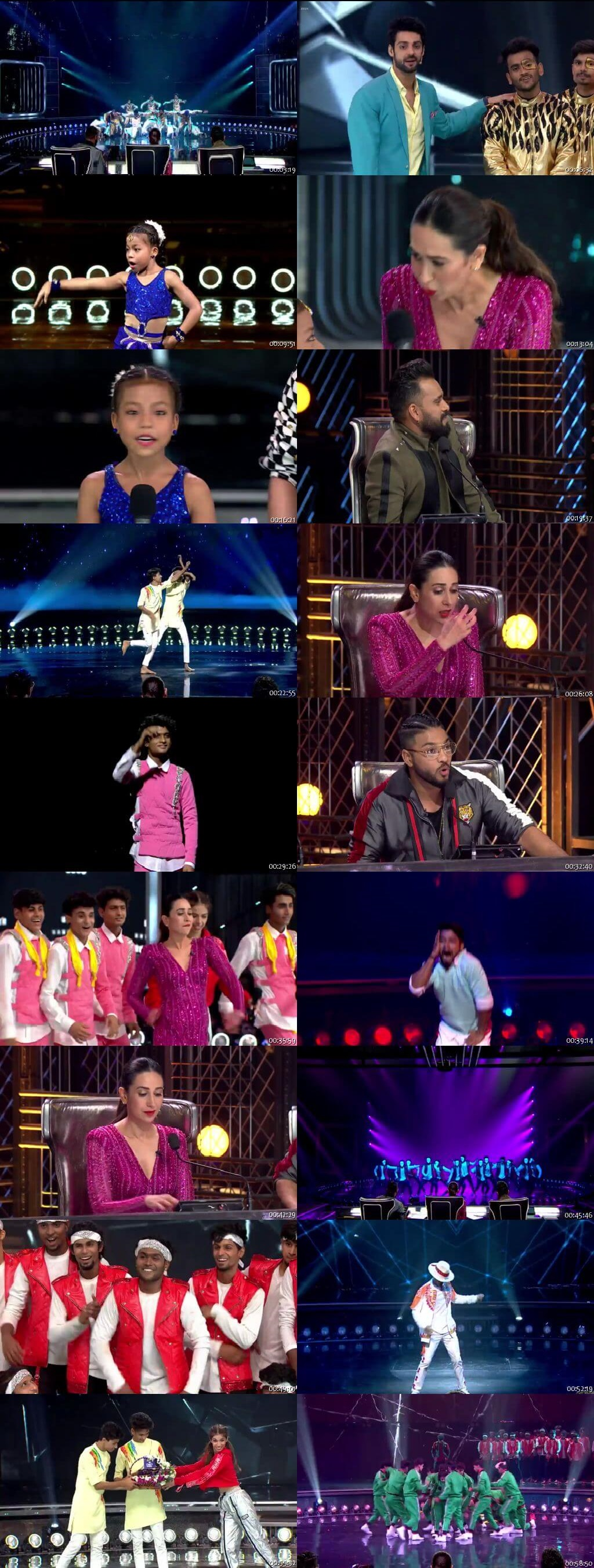 Screenshots Of Hindi Show Dance India Dance Battle of the Champions Season 7 14th July 2019 Episode 08 300MB 480P HD