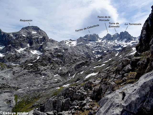Una mirada al Cornión en Picos de Europa.