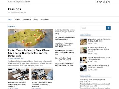 Cassions WordPress Theme