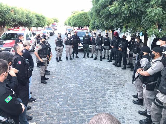 Operação Jatobá prende suspeito de liderar organização envolvida em tráfico no Sertão