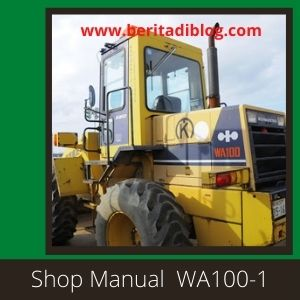 WA100-1 Shop Manual Wheel Loader Komatsu