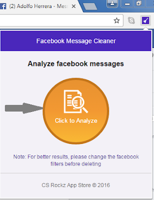 Delate All Facebook Messages