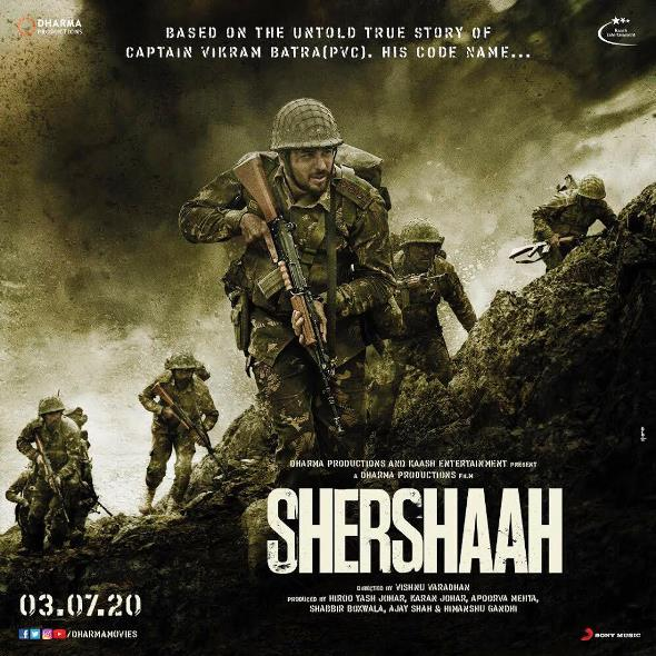 Shershaah new upcoming movie first look, Poster of Salman, Sonakshi next movie download first look Poster, release date